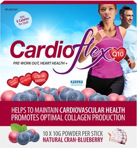 CardioFlexQ10 Cran-Blueberry Stick Packs