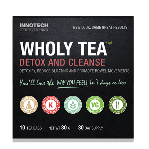 Wholy Tea Detox and Cleanse Tea